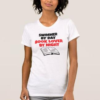 Book Lover Swimmer T-shirt