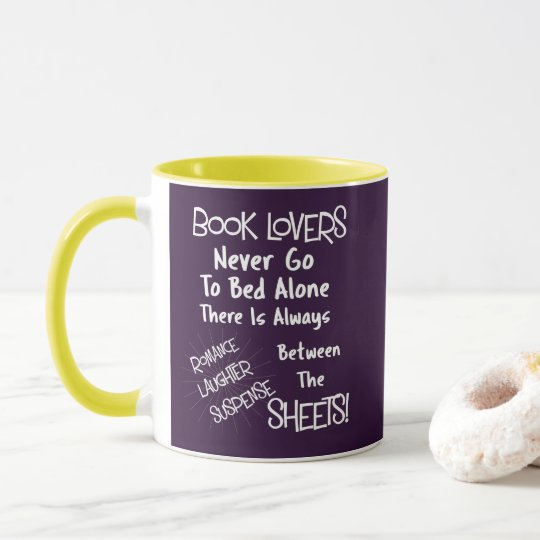 Book Lovers Funny Text Quote Mug