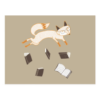 """Book Marathon"" Postcard"