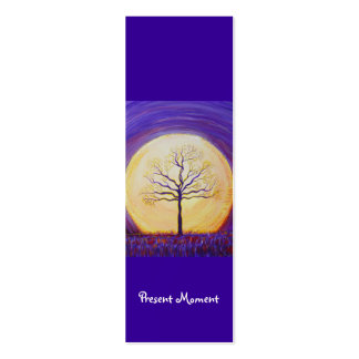 Book Mark - Present Moment Business Cards