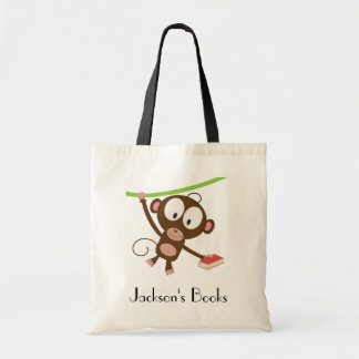Book Monkey Library Budget Tote Bag
