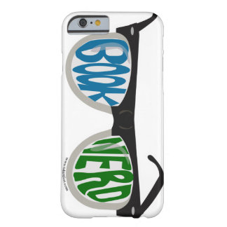 Book Nerd Glasses Barely There iPhone 6 Case