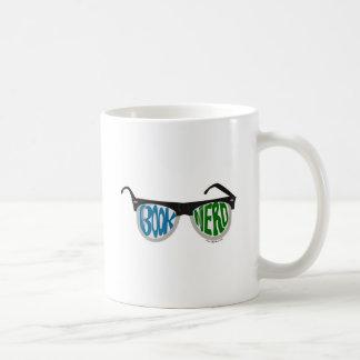 Book Nerd Glasses Coffee Mugs