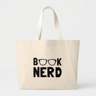 Book Nerd Large Tote Bag