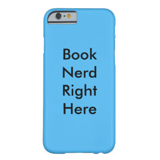Book Nerd Right Here IPhone Case