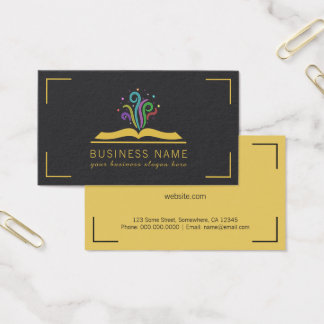 Book of Dreams Magic Fantasy Writer Bookstore Business Card