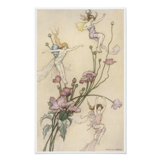 Book of Fairy Poetry, Three Spirits Posters