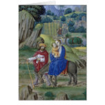 Book of Hours Christmas Card