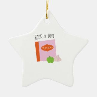 Book Of Love Ceramic Star Decoration