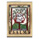 Book of Psalms greeting card