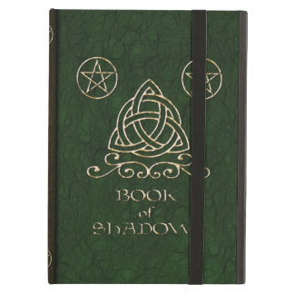 Book of Shadows Celtic Green iPad Air Cases