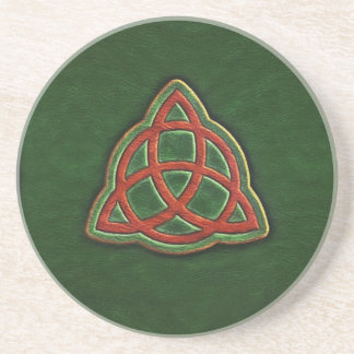 Book of Shadows Cover Sandstone Coaster