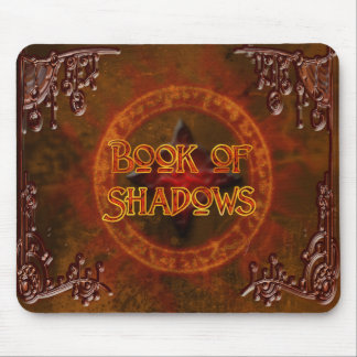 Book of Shadows Rustic Mousepad