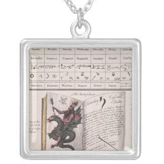 Book of Spirits Custom Necklace