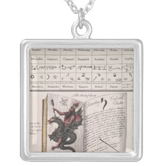 Book of Spirits Silver Plated Necklace