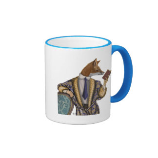 Book Reader Fox Ringer Mug