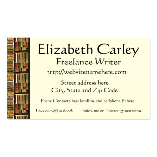 Book Scene  Business Card