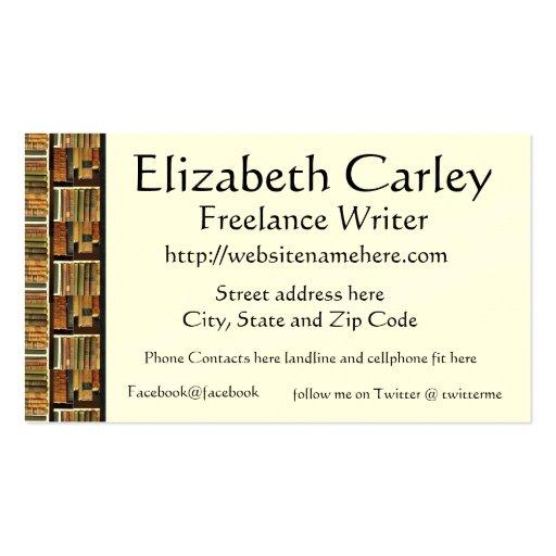 Book Scene  Business Card