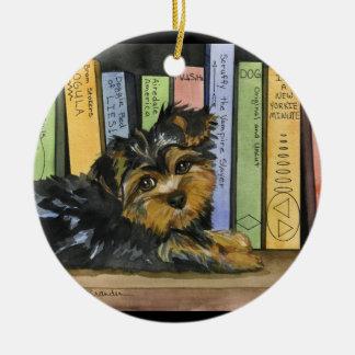 Book Shelf Cutie Christmas Ornament