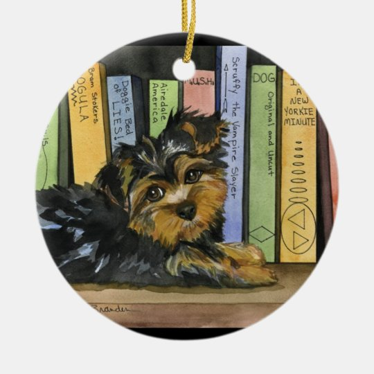 Book Shelf Cutie Christmas Ornament
