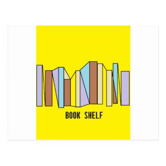 Book Shelf Postcard