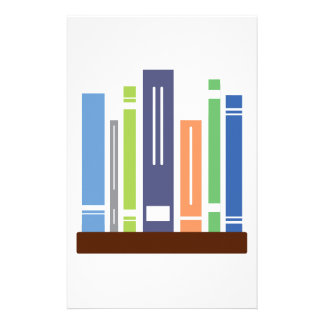 Book Shelf Personalized Stationery