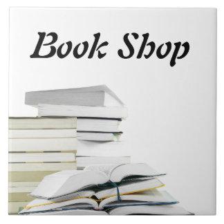 Book Shop Tile Sign Template
