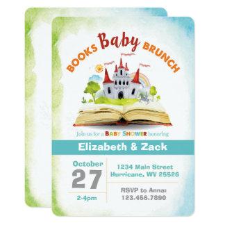 Book Shower Baby Shower Invitation