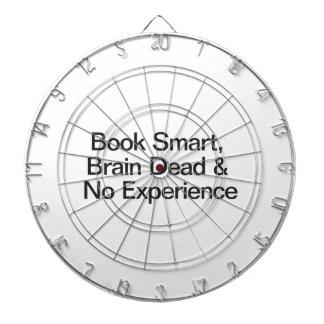 Book Smart, Brain Dead & No Experience Dart Boards