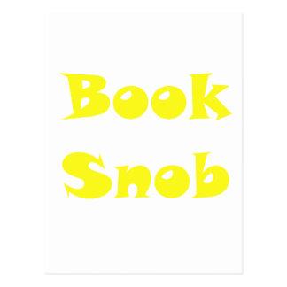 Book Snob Postcard