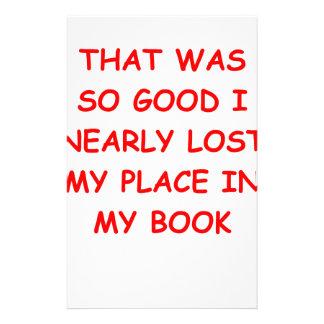 book custom stationery