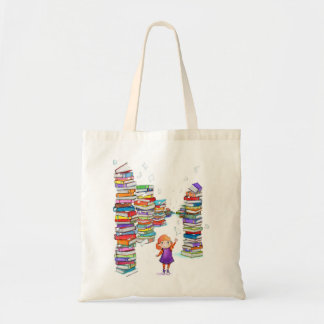 Book Tower Tote Bag
