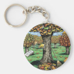 Book Tree keychain