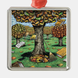 Book Tree Ornament