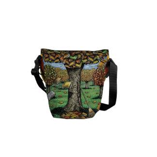 Book Tree Rickshaw Bag Messenger Bag