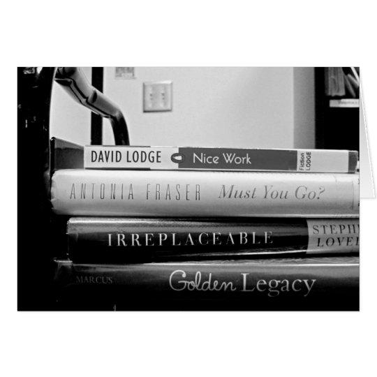Book Truck Librarian Retirement/Farewell Card