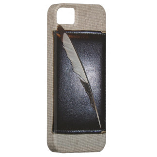 Book wild duck feather iPhone 5 cover