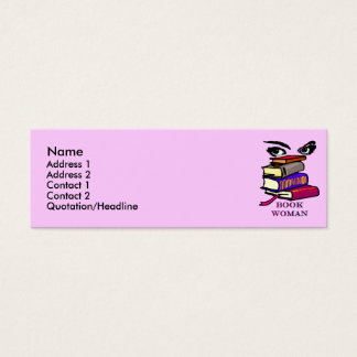 Book Woman Profile Cards