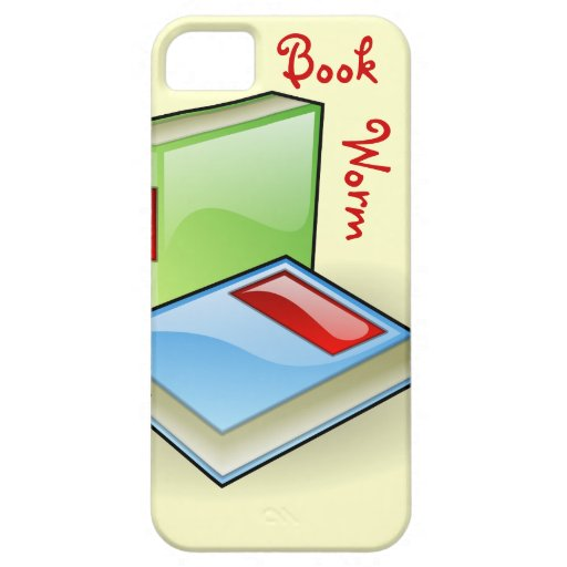 Book Worm iPhone 5 Case