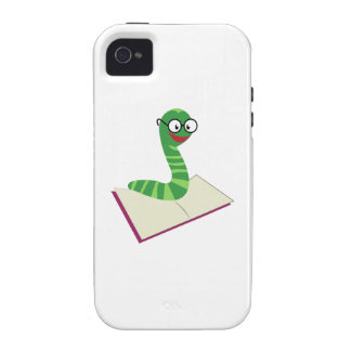 Book Worm Vibe iPhone 4 Cases