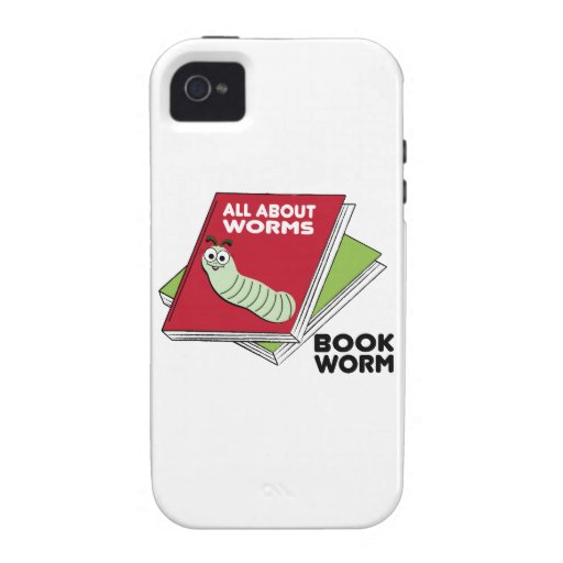 Book Worm Case-Mate iPhone 4 Cover