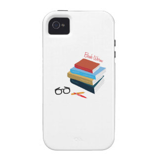 Book Worm iPhone 4 Cases