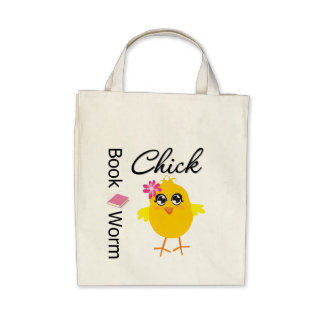 Book Worm Chick Bag