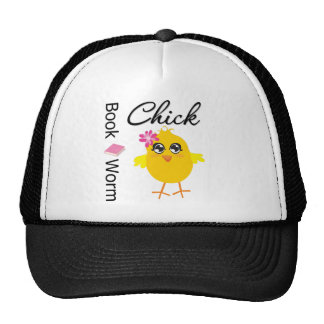 Book Worm Chick Hat