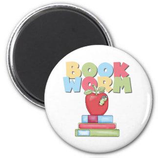 Book Worm Refrigerator Magnet