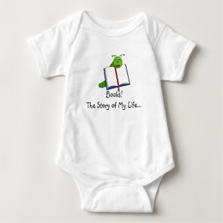 Book Worm one piece bodysuit tee!