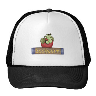 Book Worm T shirts and Gifts Hats