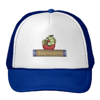 Book Worm T shirts and Gifts Mesh Hats
