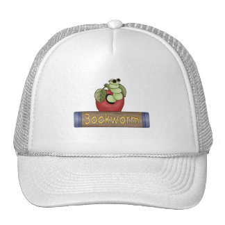 Book Worm T shirts and Gifts Trucker Hats