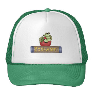 Book Worm T shirts and Gifts Hat